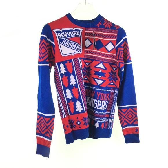 bfe4cd167f2 NHL Sweaters | Ny New York Rangers Ugly H116084 | Poshmark